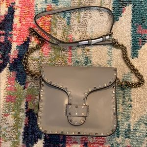 Rebecca's Minkoff Studded Grey Crossbody